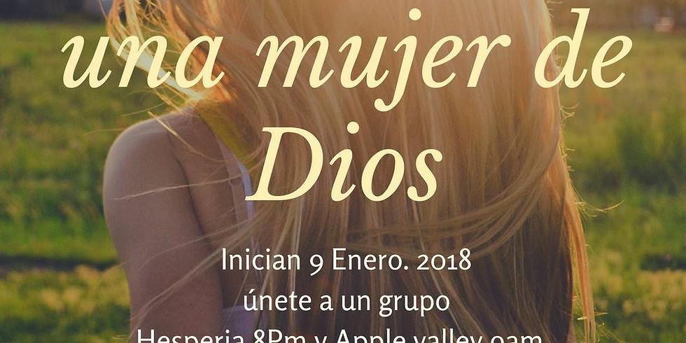 Hesperia CA El perfil de una mujer de Dios.  .