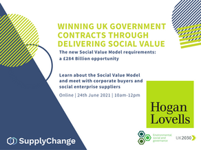 Winning UK Government contracts through delivering social value