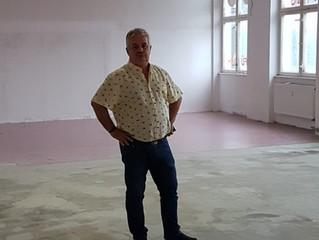 Eigenes Vereinsheim - Aufbau - Umbau - Anpacken - Schweiß vergießen