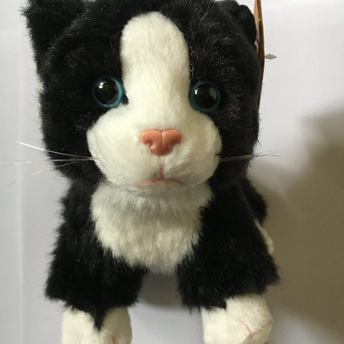 Living Nature Black and White Cat Toy