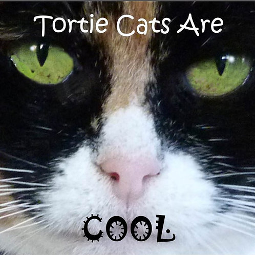 Tortie Cats are Cool Magnet