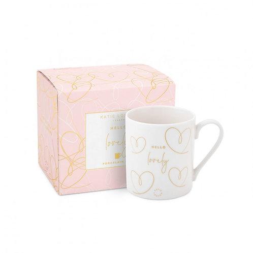 Hello Lovely - Boxed Porcelain Mug