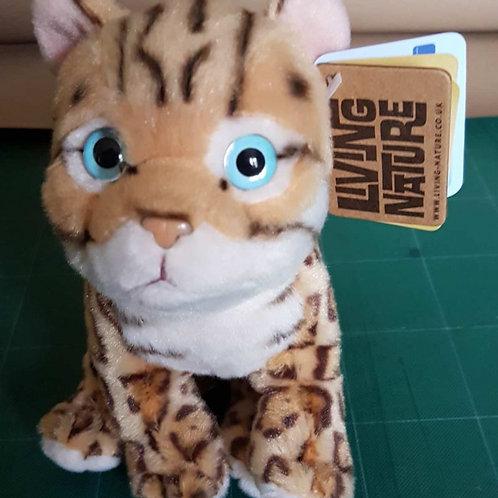 Living Nature Bengal Kitten Soft Toy