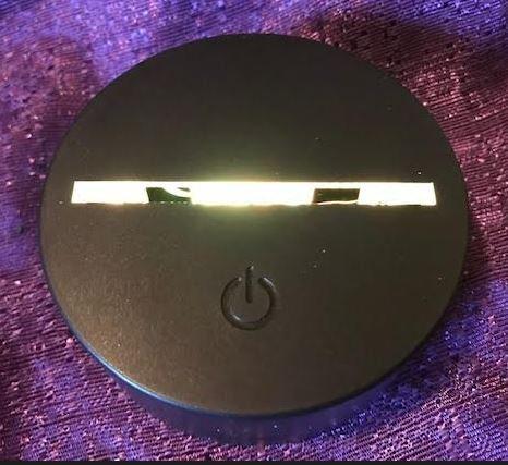 battery operated light base