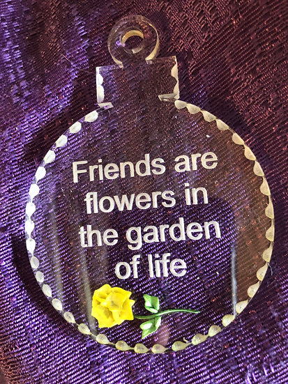 Friends sun catcher