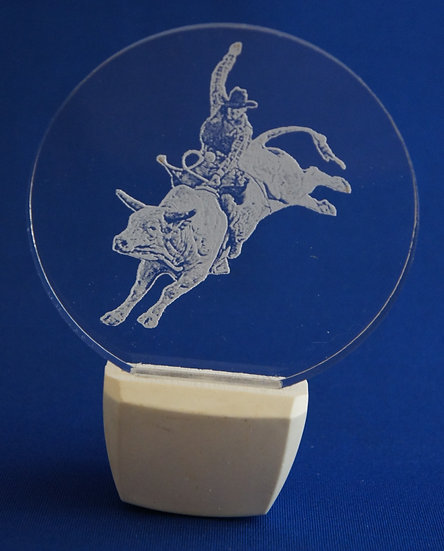 Bull Rider NIGHT LIGHT