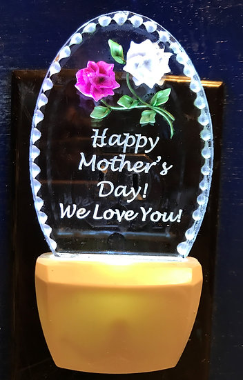 Mother's Day night light