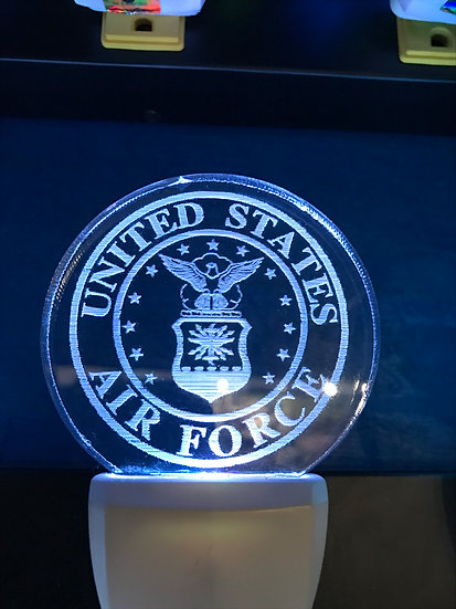 Air force Night Light