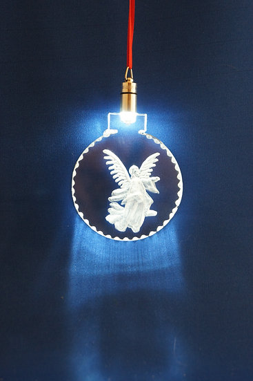 LIGHTED ORNAMENT -Angel