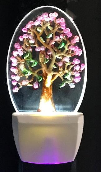 spring tree night light