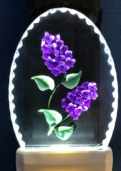 Lilacs night light