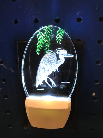 Heron Night Light