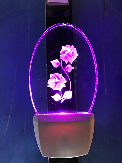 Roses night light