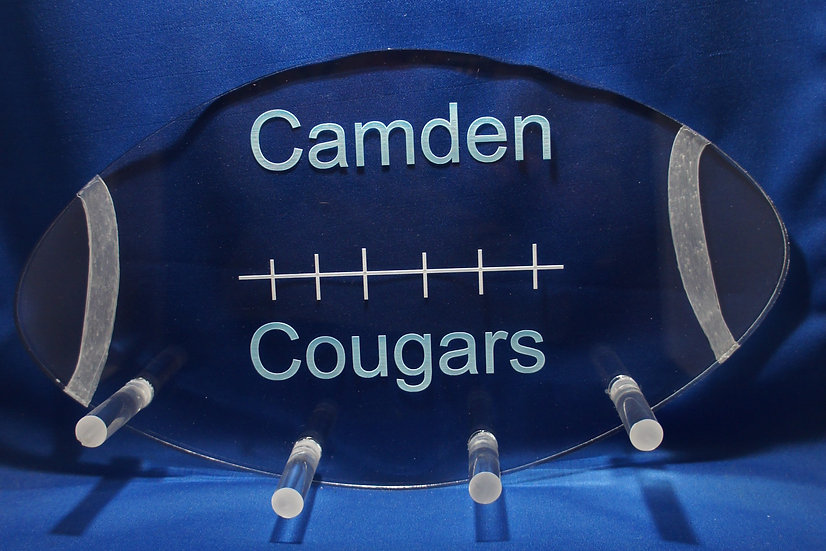 Personalized Football wall hanger