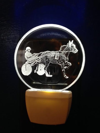 Sulky horse night light