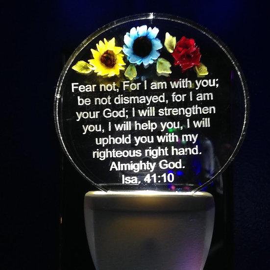 Bible verse Isa. 41:10 FEAR NOT
