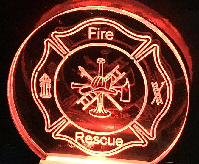 Fire Logo night light