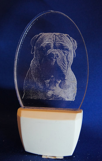 Bull Mastiff Night Light