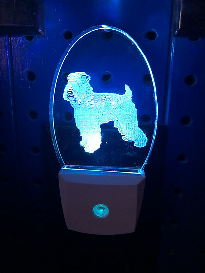 Soft Coated Wheaton Terrier Night Light
