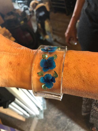Pansy bracelet