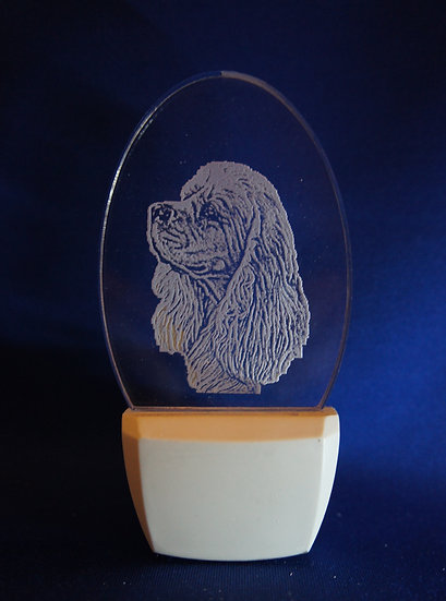 Cocker Spaniel head Night Light