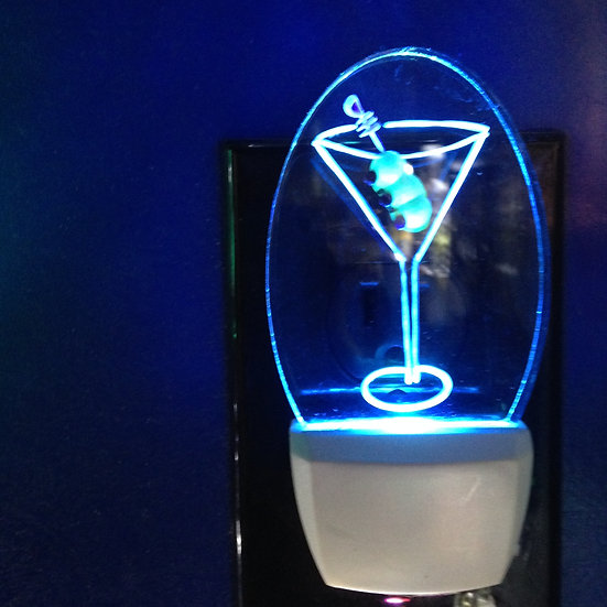 Martini night light