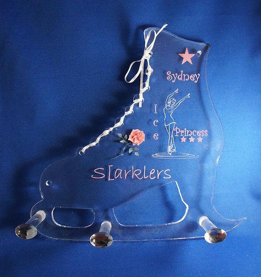 Ice Skate  Medal Hanger