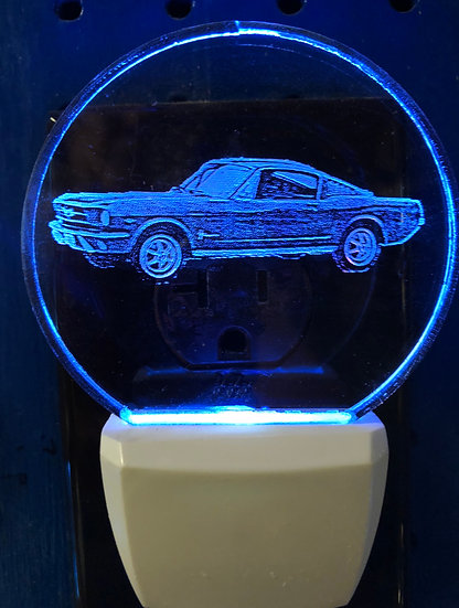 Mustang Night Light