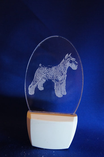 Miniature Schnauzer Night Light