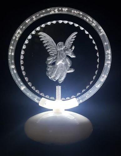 Angel halo illuminated