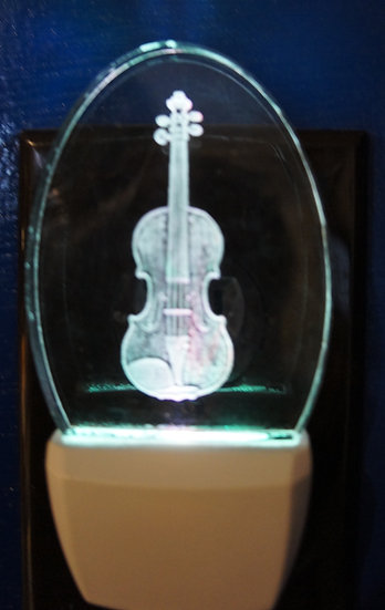 Violin night light