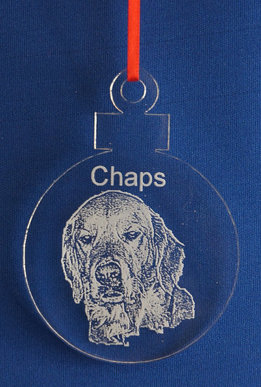Any Dog Breed ornament