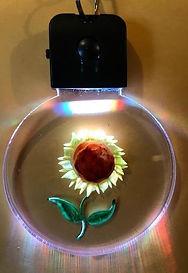 sunflower keychain circle.JPG