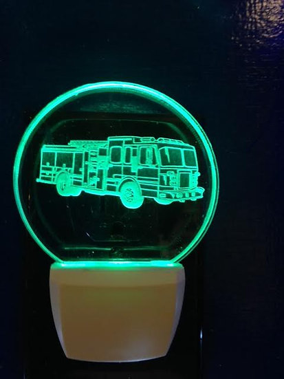 Firetruck night light