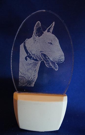 Bull Terrier Night Light