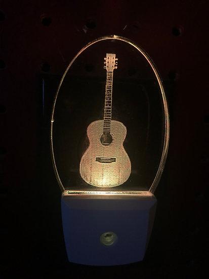 Acoustic Guitar night light