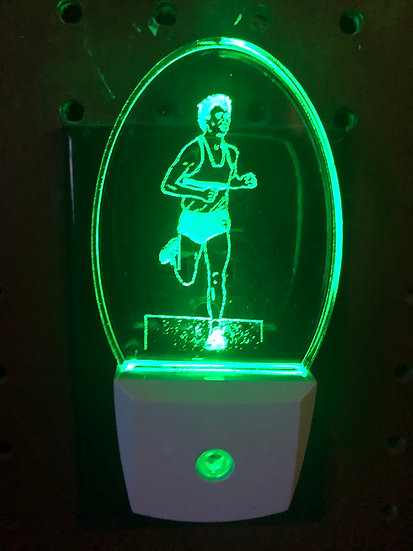 Runner night light