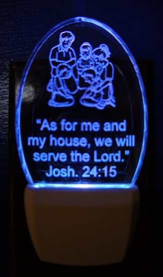 copy of Bible verse Josh. 24;15 As for me and my house...