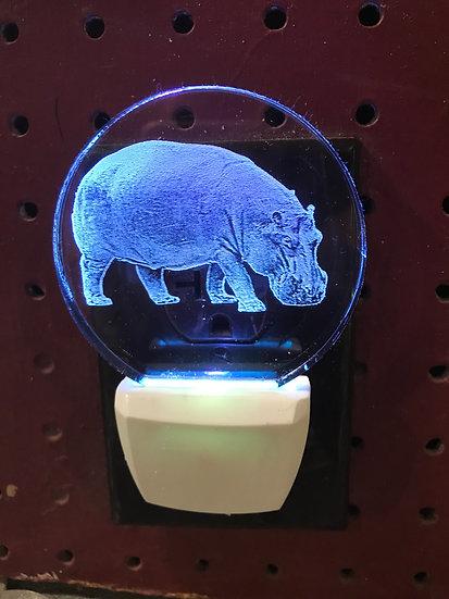 Hippo Night Light
