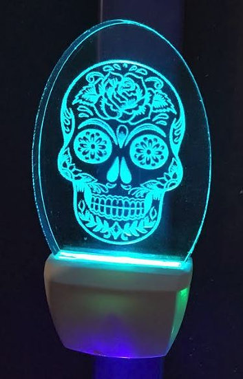 Sugar Skull  night light