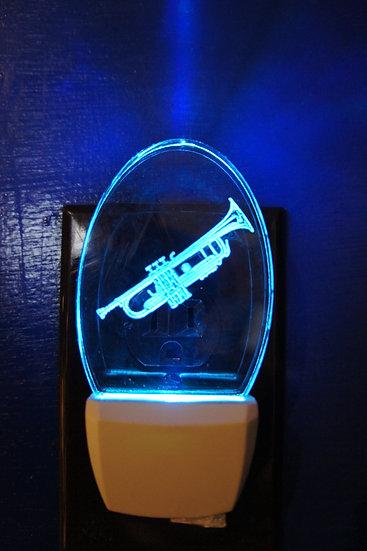 Trumpet night light