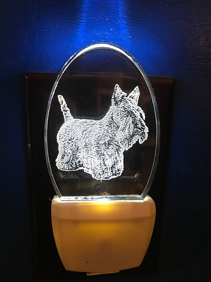 Scottish Terrier Night Light