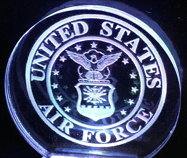 Air Force Logo night light