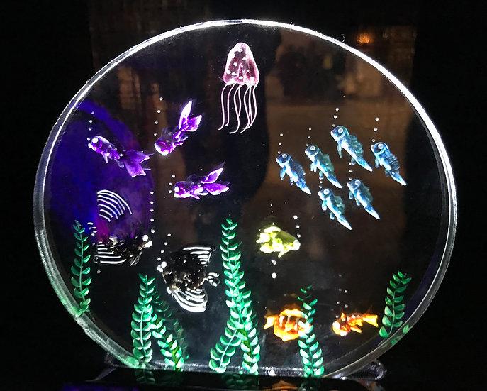 Real life Aquarium Scene