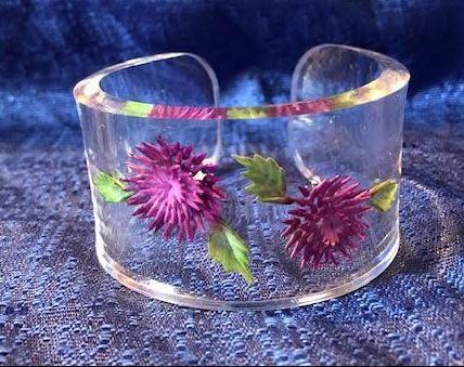 Thistle flowers Bracelet