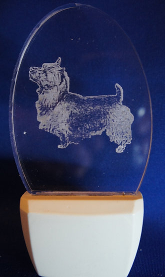 Australian Terrier  head Night Light