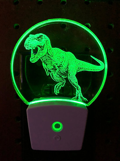 T Rex Night Light