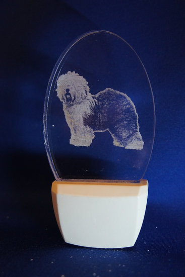 Old English Sheepdog Night Light