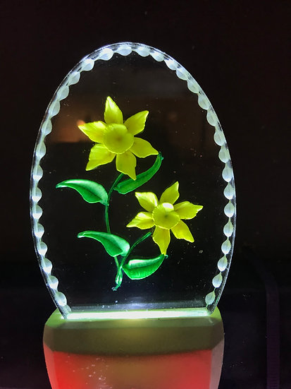 daffodils night light