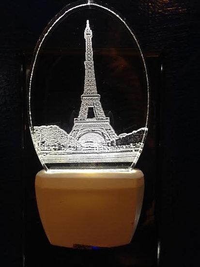 Eiffel Tower night light